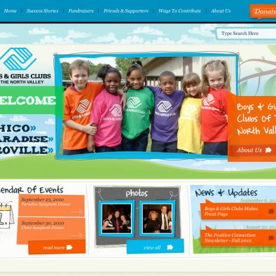 Boys & Girls Club of North Valley Home Page