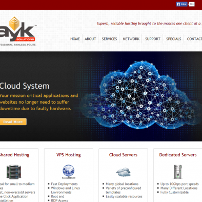 AYK Solutions Home Page