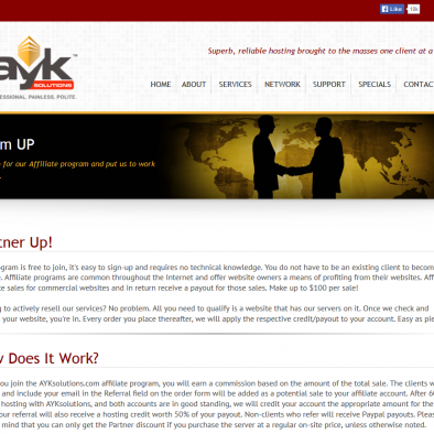 AYK Solutions Inside Pages
