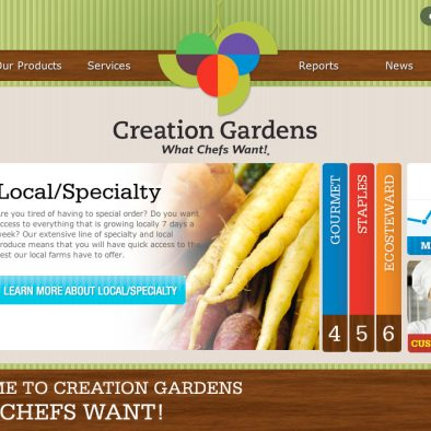 Creation Gardens Home Page