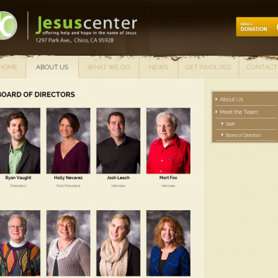 Jesus Center Chico BOD