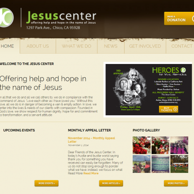 Jesus Center Chico Home Page