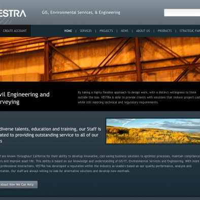 Vestra Resource Design - Home Page