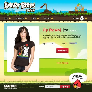 Angry Birds Product Details